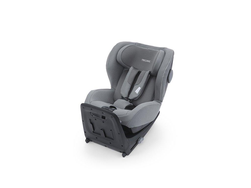 RECARO KIO I-Size + BASE Isofix 2020 Prime Silent Grey