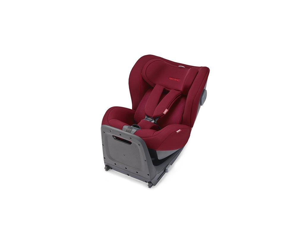 RECARO KIO I-Size + BASE Isofix 2021 Select Garnet Red